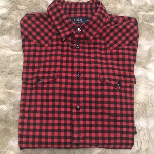 Polo Western Flannel